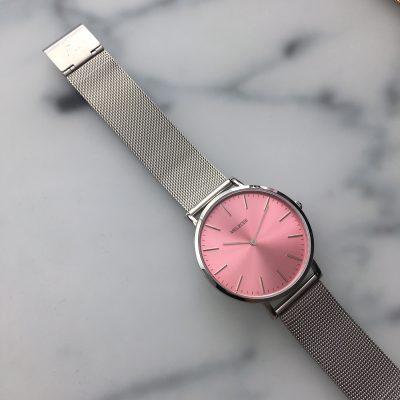 Melrose Silver Pink 38mm